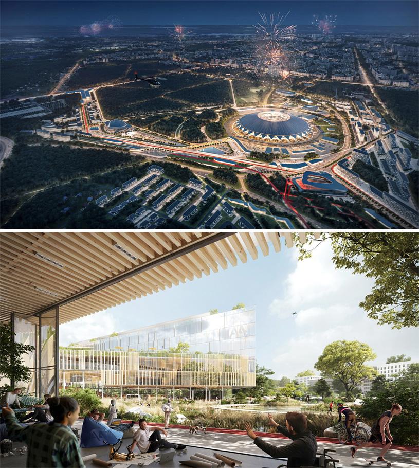 Мастер-план территории, прилегающей к стадиону «Самара Арена». Консорциум под лидерством IND Architects