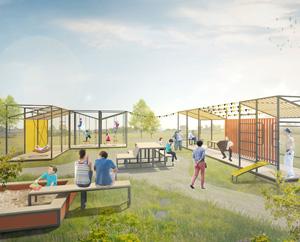 Концепция общественного пространства для малых поселений городского типа. АБ «Парк»