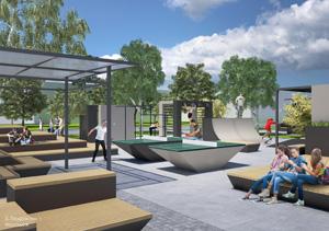 """Концепция общественного пространства для малых поселений городского типа. АБ """"Momentum Architects"""""""