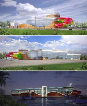 Проект аквапарка «Волна»