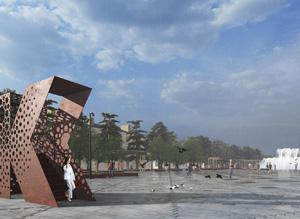 Площадь им. Ленина в Каспийске. Консорциум под лидерством ООО «МЭГЛИ Проект»
