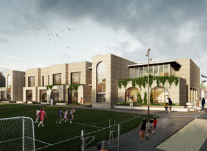 Типовой проект общеобразовательной школы на 50 мест в с. Манасаул Буйнакского района. INDArchitects