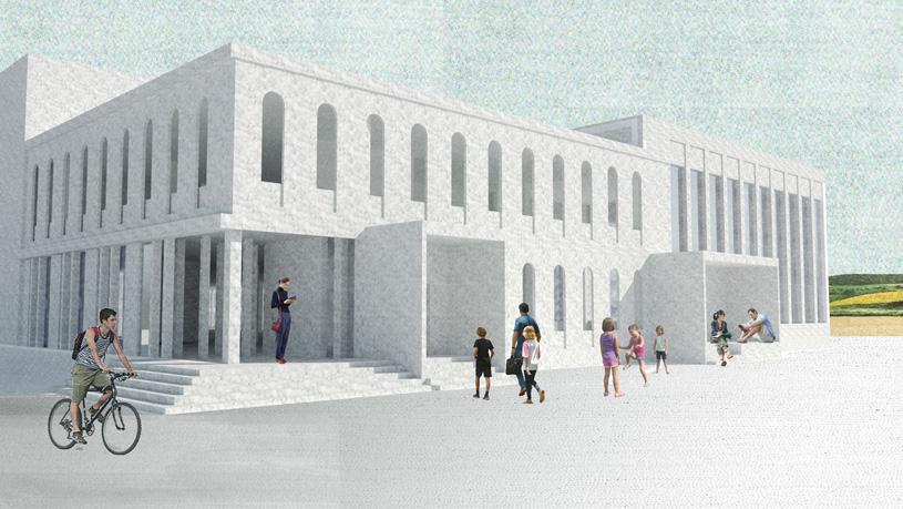 Типовой проект общеобразовательной школы на 50 мест в с. Манасаул Буйнакского района. ООО