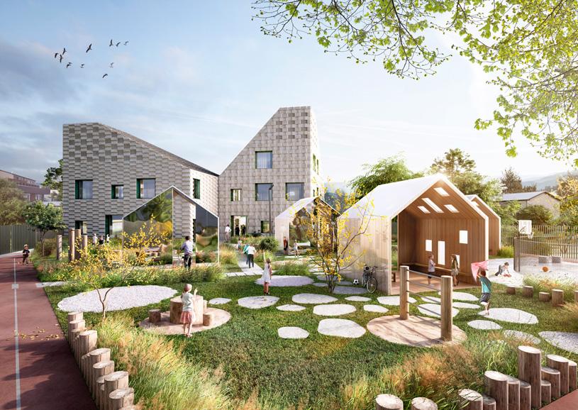 Типовой проект детского сада на 40 мест в с. Цергимахи Акушинского района.  ООО «Проектное бюро АПЕКС»