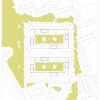 Проект жилого комплекса «Покровский» в Ижевске. 2019 г. Автор: Фадеев А.В. (Самара)
