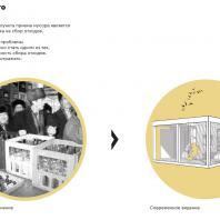 Конкурсный проект пункта приема вторсырья и модульной контейнерной площадки. Авторы: Корепанова Н.С., Наумова А.В. (Ижевск)