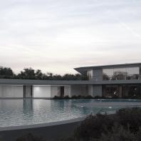 Проект двухэтажного одноквартирного дома. Архитектор Мананников А.О. 2016 г.