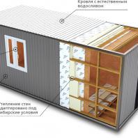 Конкурсный проект пункта приема вторсырья и модульной контейнерной площадки. Костромская ГСХА. Авторы: Толстикова Е.С., Главатских А.А. (Кострома)