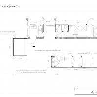 Конкурсный проект пункта приема вторсырья и модульной контейнерной площадки. Studio CRIT (Ижевск). Авторы: Мишарина А.А., Кулагина П.Ю., Сухоплюев А.А.