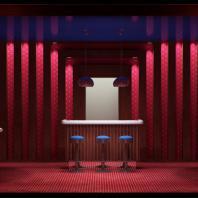 Проект интерьера казино «Royal», г. Томск. АФ-студия. Архитекторы: Дмитрий Антонов, Иван Фаткин