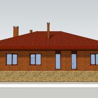 Проект «Традиционный загородный дом». 254 м². АФ-студия. Архитектор: Дмитрий Антонов