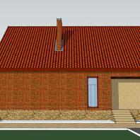 Проект «Традиционный загородный дом». 193 м². АФ-студия. Архитектор: Дмитрий Антонов