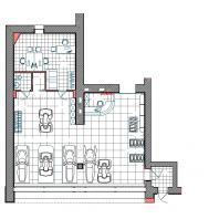 Проект интерьера салона «Мотомир», г. Новосибирск. АФ-студия. Архитекторы: Дмитрий Антонов, Иван Фаткин
