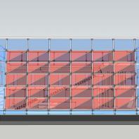 Торгово-офисное здание «Красный куб». АФ-студия. Архитектор: Дмитрий Антонов