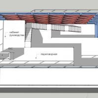 Торгово-офисное здание «Красный куб». 3-й этаж. АФ-студия. Архитектор: Дмитрий Антонов