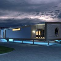 Проект универсального павильона. АФ-студия. Архитекторы: Дмитрий Антонов, Иван Фаткин