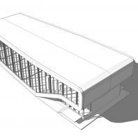 Проект павильона-кафе. АФ-студия. Архитектор: Дмитрий Антонов