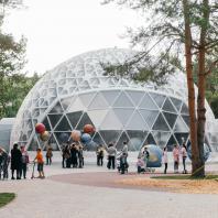 Научно-развлекательный центр в парке «Здоровье», Альметьевск, Татарстан, РФ. Программа развития общественных пространств