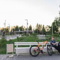 Парк им. Мусы Джалиля, город Мензелинск, , Татарстан, РФ. Программа развития общественных пространств