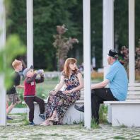 ,Парк им. Мусы Джалиля, город Мензелинск, Татарстан, РФ. Программа развития общественных пространств