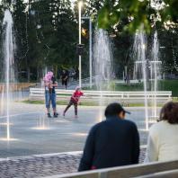Парк им. Мусы Джалиля, город Мензелинск, Татарстан, РФ. Программа развития общественных пространств