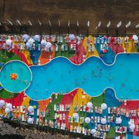 Бассейн и пляж, Альметьевск, Татарстан, РФ. Программа развития общественных пространств