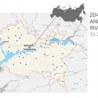 Проекты по планированию парков и прибрежных полос, реализованных в период с 2015 по 2016 год. Татарстан, РФ. Программа развития общественных пространств