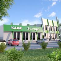 Проект торгового комплекса «Садовый центр» в Ханты-Мансийске. ООО «АПМ-Сайт», Новосибирск