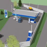 Проект АГЗС. ООО «АПМ-Сайт», Новосибирск