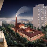 «Котельная. – Новая базилика». Программа ревитализации типовых квартальных котельных. Анастасия Ульянова, Citizenstudio