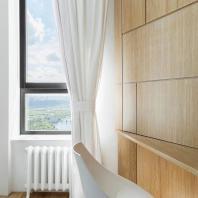 Квартира с видом на Гребной канал. KASHIN ARCHITECTS + MONOLOKO design / Максим Кашин