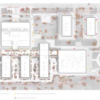 Конкурсный проект центральной районной больницы на 240 коек. Архитектурное бюро «Студия 44» (Санкт-Петербург)