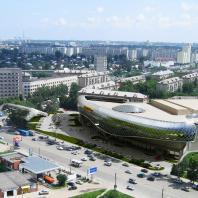 Проект торгово-развлекательного центра «Европейский». Новосибирск. Проектная организация: «АкадемСтрой». Руководитель проекта: Турецкий Б.М. 2015 г.