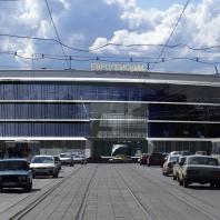 Проект торгово-развлекательного центра «Европейский». Новосибирск. Проектная организация: «АкадемСтрой». Руководитель проекта: Турецкий Б.М. 2010 г.