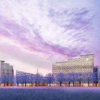 Проект Golden City, квартал 4. Васильевский остров, Санкт-Петербург. Orange Architects / КСАР Architects & Planners. 2018 г.