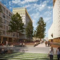 Проект Golden City, квартал 6. Васильевский остров, Санкт-Петербург. Orange Architects / КСАР Architects & Planners