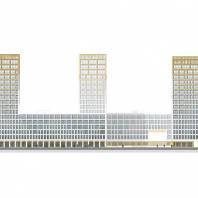 Проект Golden City, квартал 7. Васильевский остров, Санкт-Петербург. Orange Architects / КСАР Architects & Planners
