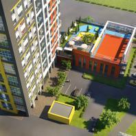 Многоквартирный жилой дом с офисными помещениями в Первомайском районе Ижевска. ООО «РК Проект»