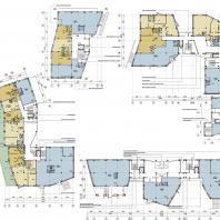 Многоквартирный жилой комплекс «Театральный квартал» в Иркутске. ООО «АСС»