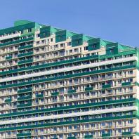 Многоэтажный жилой дом ЖК «Виллина» по ул. Есенина в Новосибирске. ООО «Архитектурное бюро Штурбабиных»
