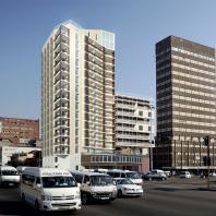 Деревянный дом из статических и гибких блоков. Дурбан, ЮАР. Архитекторы: Афонин Виталий, Петухова Мария