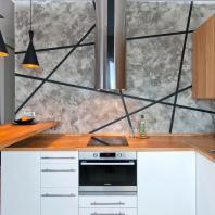 Дизайн однокомнатной квартиры в ЖК «Олимп». Новосибирск. ART-UGOL design