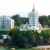 """Гостиничный комплекс бутик-отель """"Castello Mare"""". Архитектор: Лев Нодельман; конструктор: Гиви Хомерики"""