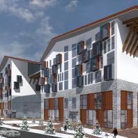 Апарт-отель туристического комплекса «Мамисон» в Северной Осетии - Алании. МГСУ. Архитекторы: Кадзаев А.А., Саркисова И.С. (руководитель)