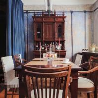 Частный интерьер в доме 1928 года. Мастерская Никиты Жилякова