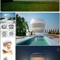 Национальный этнографический центр Кыргызстана. КГУСТА. Архитектор: Мусакеев Нияз