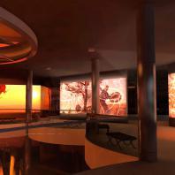 Эскизный сценарий Хакасского Национального краеведческого музея им. Л.Р. Кызласова. ООО «Дизайн-компания Маргариты Вяткиной»