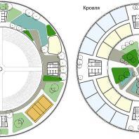 Всепогодный комплекс «Поплавок». ООО «Творческая мастерская «Дизайнус». Архитектор: Ярослав Усов