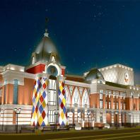 Проект театра кукол «Сказка» в Барнауле. ООО «АМТ-проект»