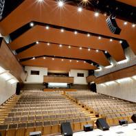 Интерьеры концертного зала «Сибирь» в Барнауле. ООО «АМТ-проект»